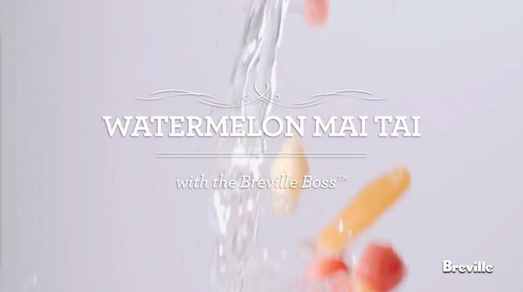 Watermellon Mai Tai