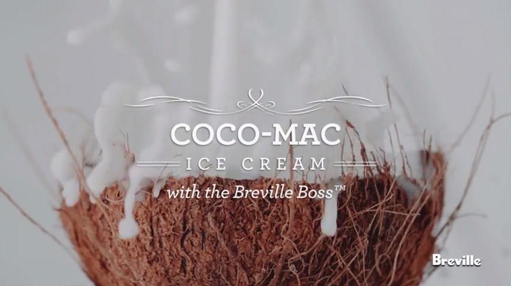 Coco-Mac Ice Cream