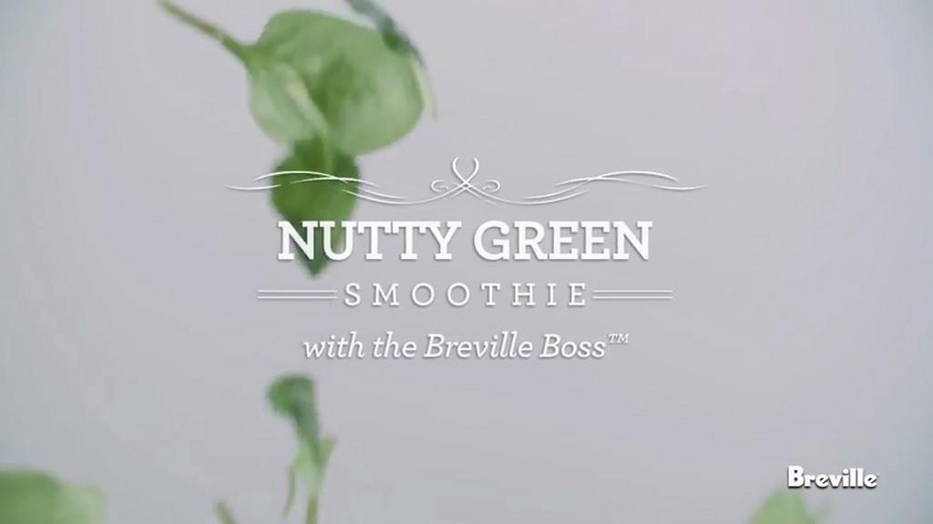 Nutty Green Smoothie